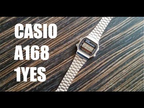 Casio A168 1YES Uhr Review Deutsch