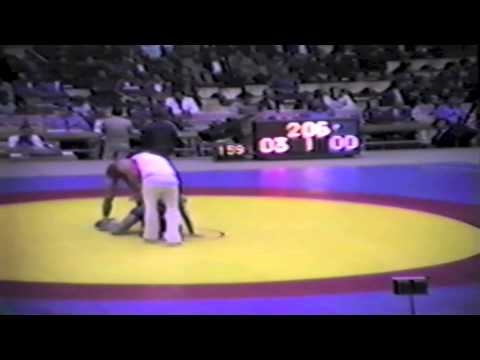 1983 Senior World Championships: 68 kg Buyandelger Bold (MGL) vs. Dave McKay (CAN)