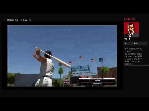 Playing     MLB The Show 18