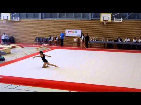 Compétition départementale SOL niveau 3 Gym jonage