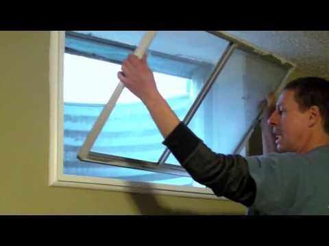 How to Replace Your Basement Windows: Columbia, Monarch, Aluminum, Vinyl