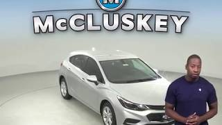 183579 New 2018 Chevrolet Cruze LT FWD 4D Hatchback Silver Test Drive, Review, For Sale -