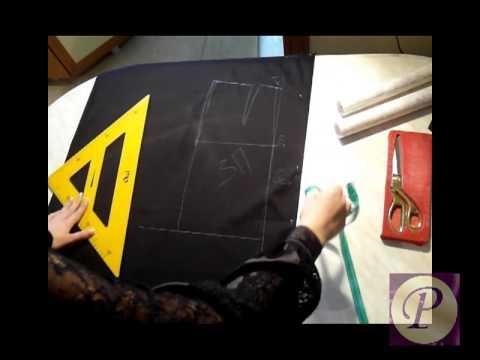 Видео Выкройка юбки карандаш с высокой талией для начинающих пошаговая инструкция