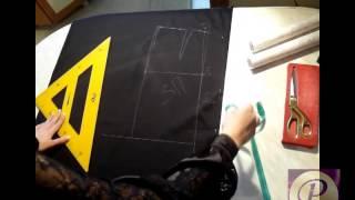 Выкройка юбки карандаш с завышенной талией.Часть2(Как построить выройку юбки карандаш со шлицей с завышенной талией. СМОТРИТЕ ПОЛНУЮ ИНФОРМАЦИЮ НА САЙТЕ..., 2013-04-06T09:22:07.000Z)