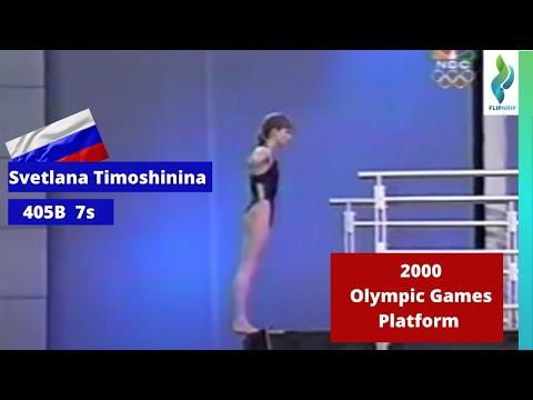 2000 Svetlana Timoshinin RUS - 405b - 7s - Platform - Olympics