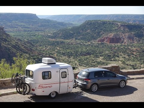Towing Scamp 13'  - Palo Duro Canyon