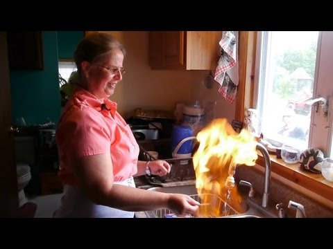 Water on Fire - Marcellus Shale Reality Tour Part 1 - Fracki