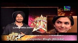 Sukhjinder Singh & Deepika Padukone in Lift Kara De Sony Tv .. Actor & Model Work Yashraj Films