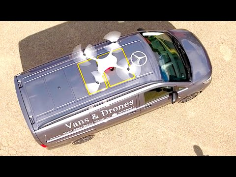 Drone Delivery Service: What Is Drone Delivery? Mercedes Van Electric Autonomous Drone Video CARJAM