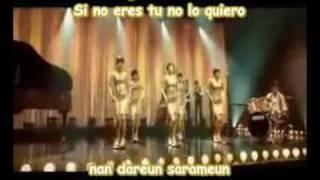 Wonder Girls- Nobody (subtitulos en español y koreano)