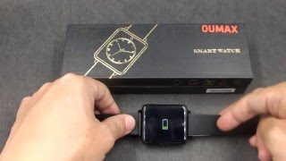 oumax s6 plus how to charge