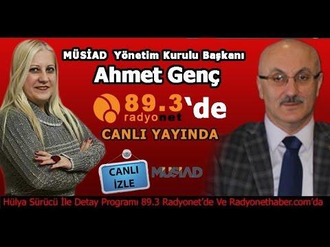 Ahmet Bayraktar Radyonet'de