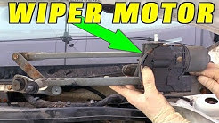 How To Replace a Windshield Wiper Motor