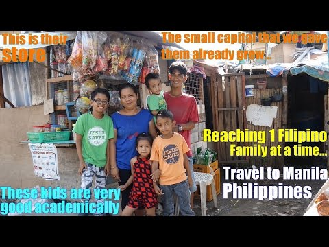 Travel to Manila Philippines and Meet Some Filipinos who Work Hard to Escape Poverty