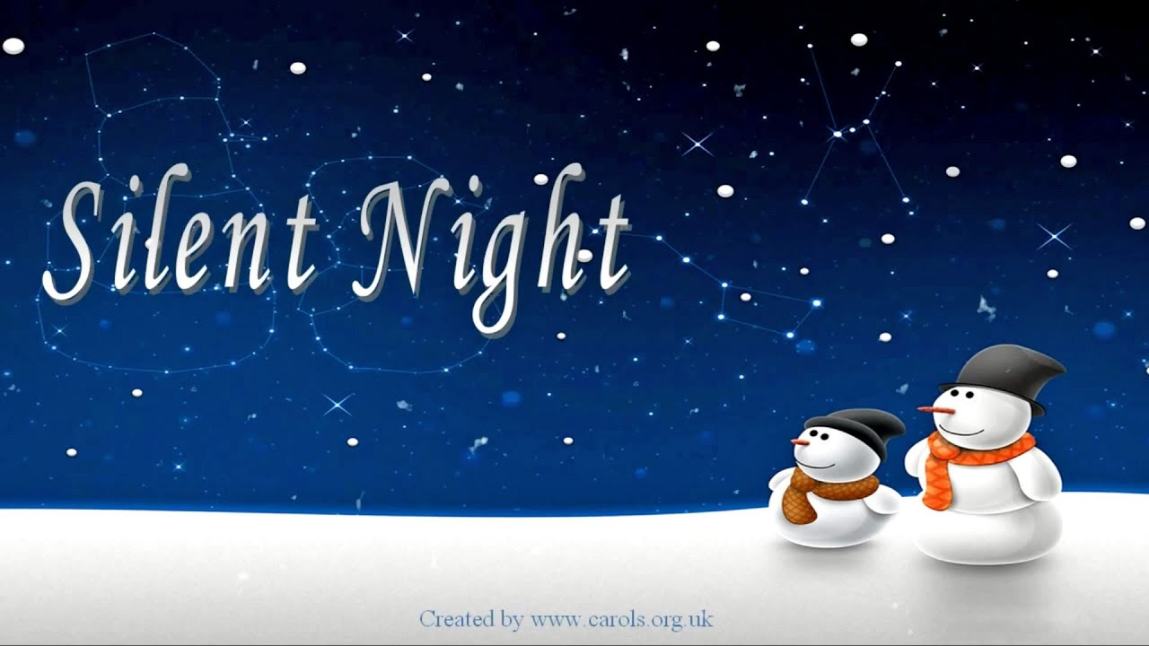 graphic about Silent Night Lyrics Printable named Quiet Evening lyrics ***