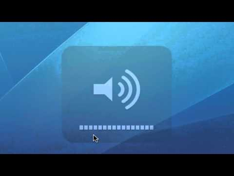 Mac OS X Volume Trick