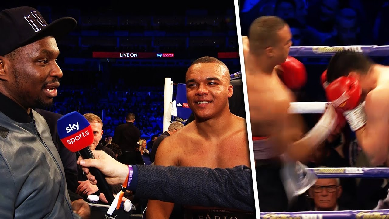 Dillian Whyte's HW protege Fabio Wardley stops Morgan Dessaux with a stunning uppercut | Full Fight