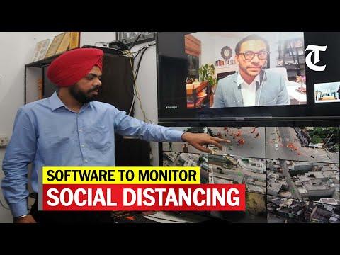Amritsar lad develops software to monitor social distancing