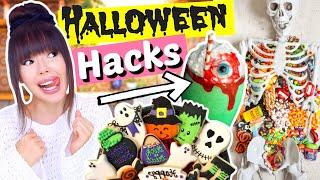 Extrem coole HALLOWEEN Hacks 👻 Snack Ideen DIY's | ViktoriaSarina