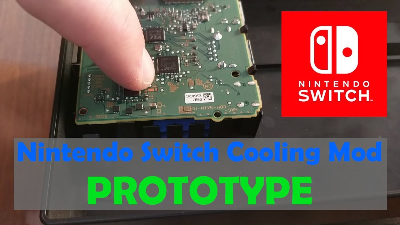 My Nintendo Switch Cooling Mod - The Prototype