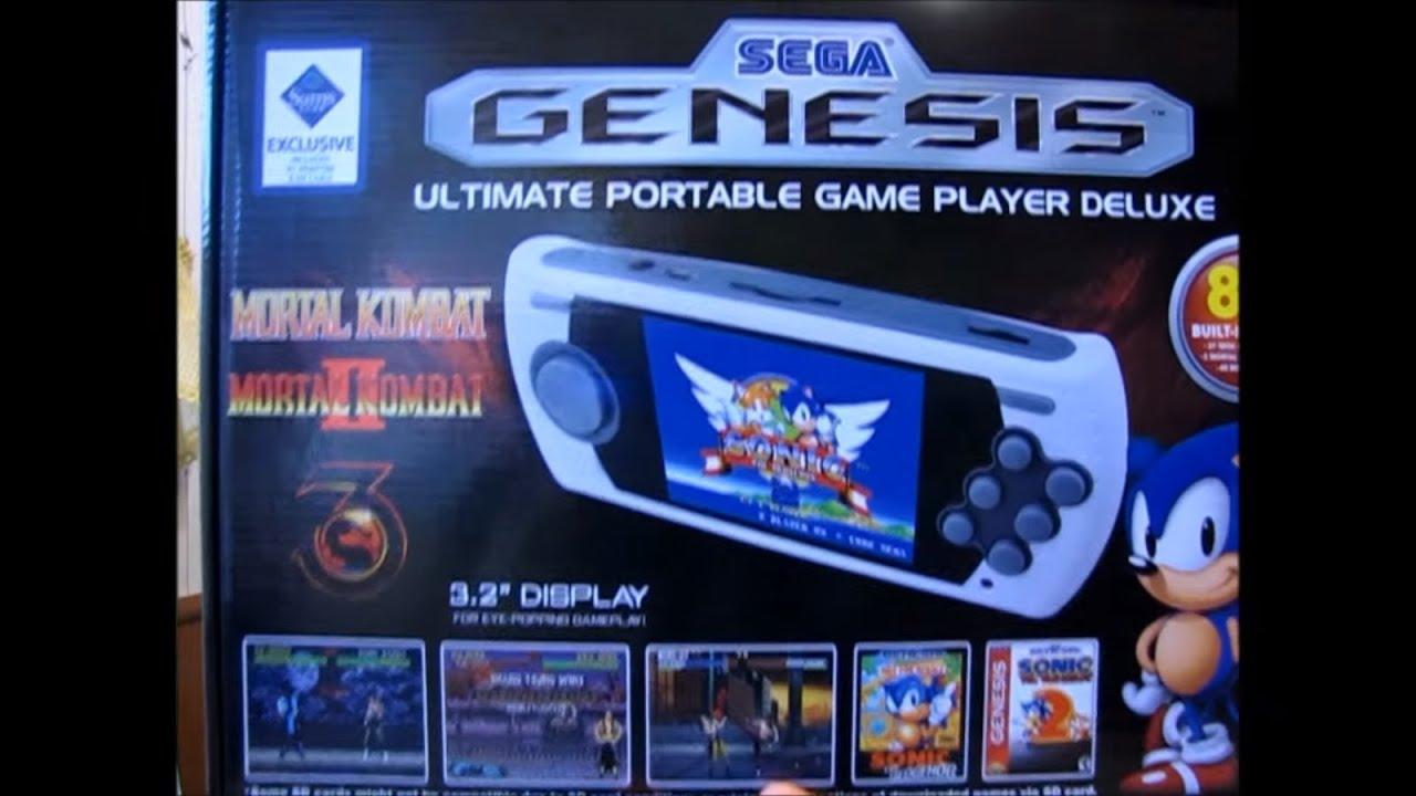 Sega genesis portable game player review / Minute maid kids