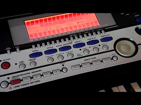 Yamaha PSR-550 Song Demonstrations