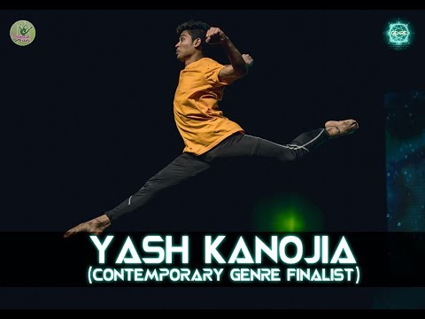 Yash Kanojia - Contemporary Genre  Finalist | Genre- Your Style Your Stage | Dance Competition