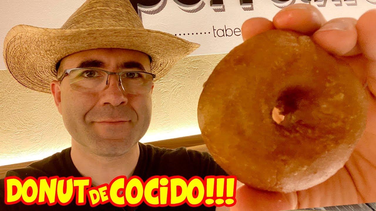 Probando el DONUT de COCIDO + INCREIBLES PINTXOS GOURMET en MADRID