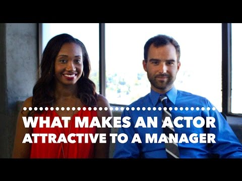 What Makes An Actor Attractive To A Manager ManagerSeries Vol. 1  Workshop Guru