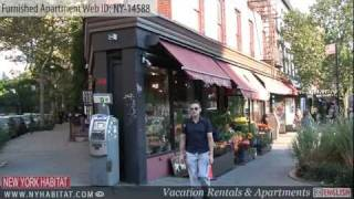 New York City - Video Tour Of A Furnished Apartment On West 14th Street (midtown West, Manhattan)
