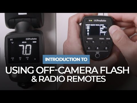 Introduction To Using Off-Camera Flash And Radio Remotes | Mastering Your Craft