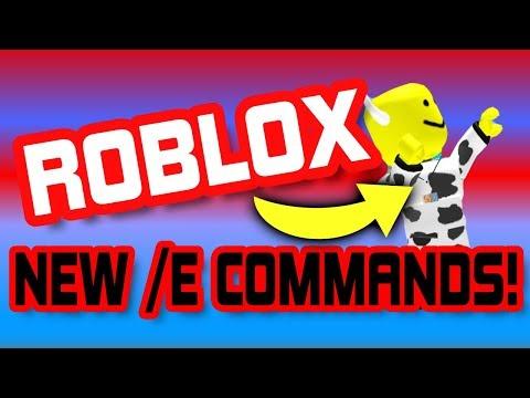NEW ROBLOX /E ANIMATIONS BETA! - Dances And More!