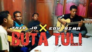 Gitaris Tunanetra Skill Ajibbb‼ BUTA TULI (Rhoma Irama) Cover by Junior Dompu