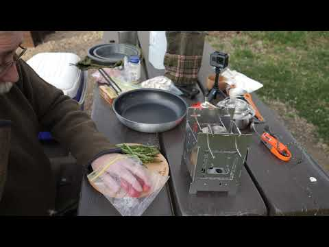 Camp Cooking On My FireBox Stove Review From Canada
