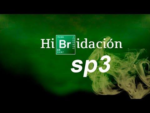 HIBRIDACIÓN SP3   Química Básica