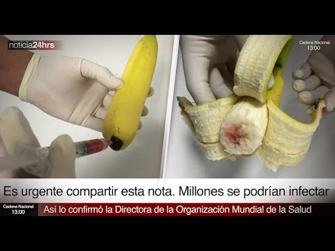 PLATAINS INFECTED WITH HIV (AIDS) IN MEXICO AND US? JANUARY 12, 2016 (EXPLAINED)