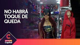 No habrá toque de queda en Bogotá para Halloween