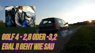 Turbo-Gockel VW Golf 4 2.8-3.2 ??? Turbo - Testfahrt