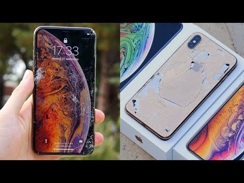 DROP TEST IPHONE XS MAX - 1700€!