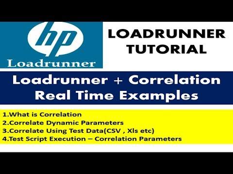 Loadrunner Tutorials | Correlation in Loadrunner with Examples