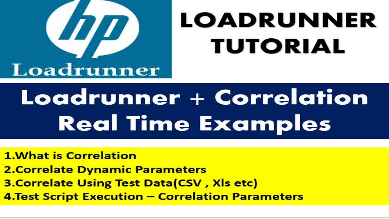 Loadrunner Tutorials | Correlation in Loadrunner with Examples
