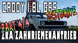 Caddy 1.8l PG G65 G-Lader ZRA/Zahnriemenantrieb - Testdrive - Part 4/4 | G65-LADER.DE