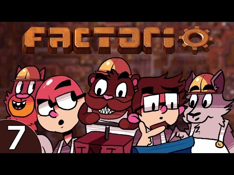 Baer & Pals Play Factorio (Ep. 7) - Pittsburgh