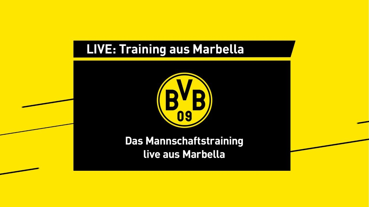 LIVE: Training aus Marbella