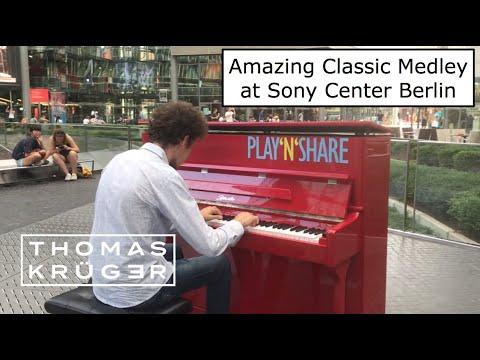 THOMAS KRÜGER – AMAZING CLASSIC MEDLEY At SONY CENTER BERLIN