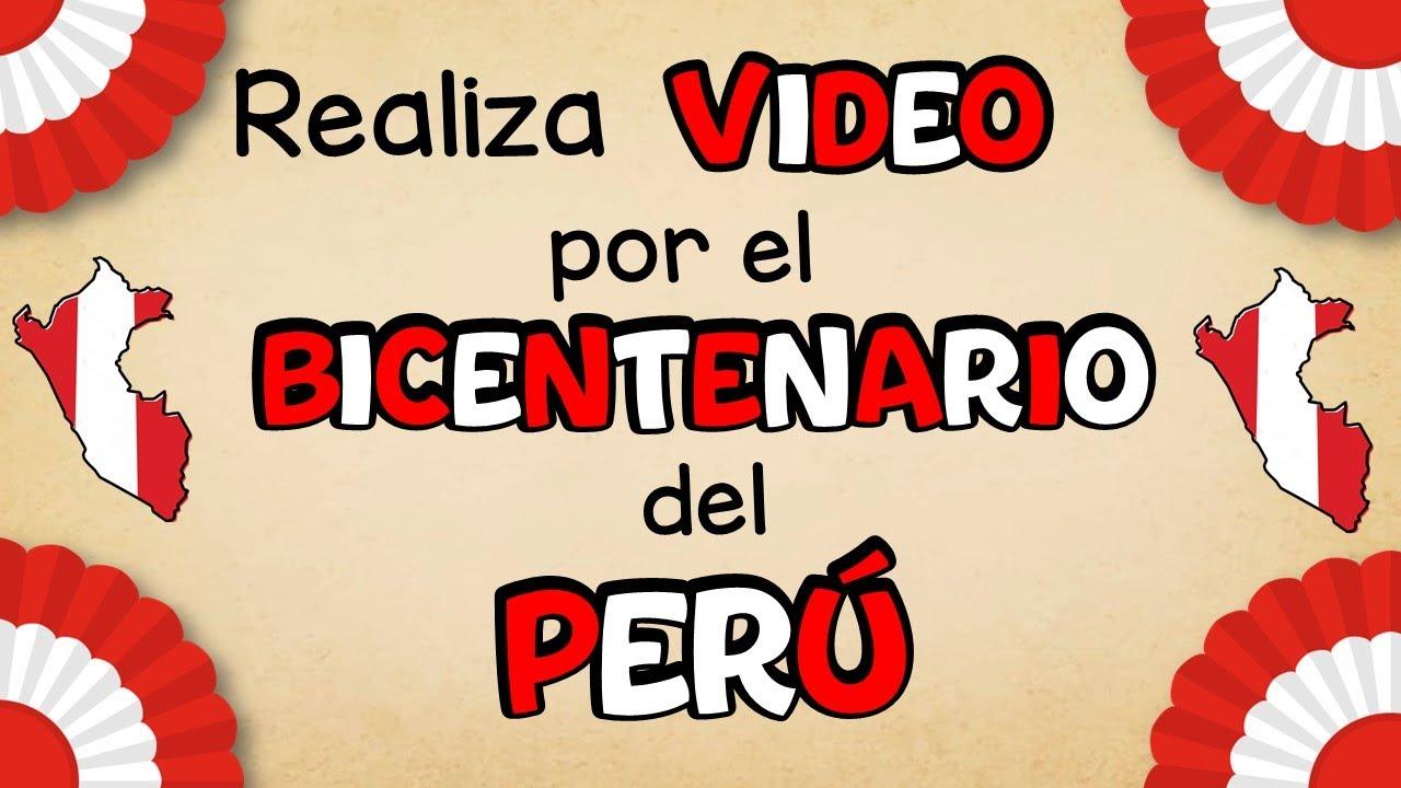 Realiza video por Fiestas Patrias 🇵🇪 en Power Point   Bicentenario en PPT   Zukistrukis   Miss Kathy