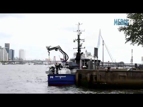 Dode vrouw aangetroffen in Nieuwe Maas Rotterdam
