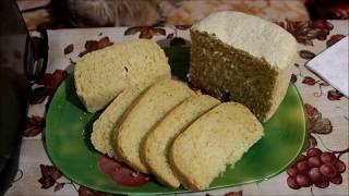 Кукурузный хлеб в хлебопечке.