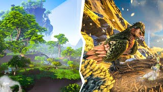 We Went On A TAMING SPREE In ARK Crystal Isles | JeromeACE