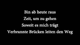"""Casper - """"Auf Und Davon"""" mit Lyrics [HD 1080p]"""